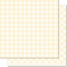 Gotta Have Gingham 12x12 Paper- Daisy