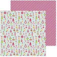 Christmas Market 12x12 Paper- Deck the Halls