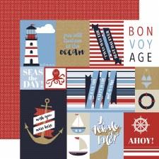 Deep Blue Sea 12x12 Paper- Cards