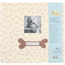 MBI 12x12 Postbound Scrapbook- Dog