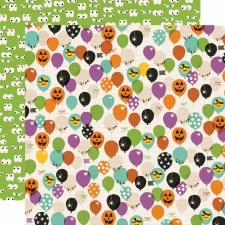 Say Cheese Halloween 12x12 Paper- Faboolous!