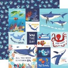 Fish are Friends 12x12 Paper- Multi Cards