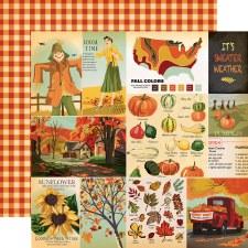 Fall Break 12x12 Paper- Cards