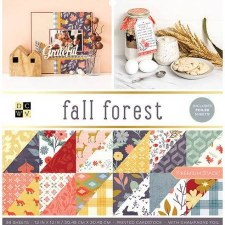 12x12 DCWV Paper Stack- Fall Forest