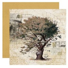 Ancestry 12x12 Paper- Family Tree