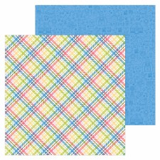 Down On The Farm 12x12 Paper- Farmer Flannel