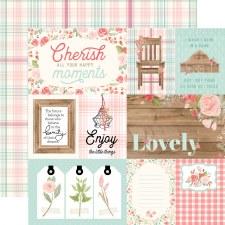 Farmhouse Market 12x12 Paper- 4x6 Cards