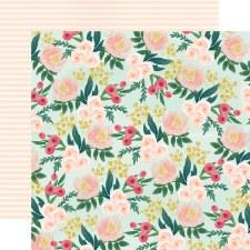 Flower Market 12x12 Paper- Garden Floral