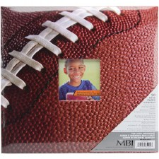 MBI 12x12 Postbound Scrapbook- Sports- Football