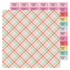 Love Notes 12x12 Paper- Forever Plaid
