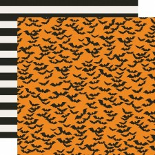 Say Cheese Halloween 12x12 Paper- Frankly Frightful