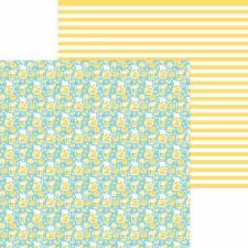 Bar-B-Cute 12x12 Paper - Fresh Lemonade