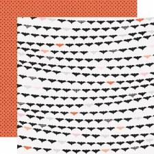 Happy Haunting 12x12 Paper- Going Battty