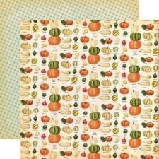 Fall Break 12x12 Paper- Gourd Variety