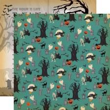Happy Halloween 12x12 Paper- Graveyard