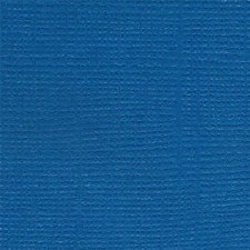 12x12 Blue Textured Cardstock- Great Lakes