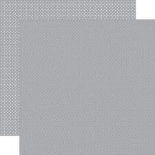 Dots 12x12 Paper- Grey