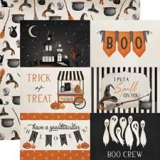 Halloween Market 12x12 Paper- 4x6 Cards