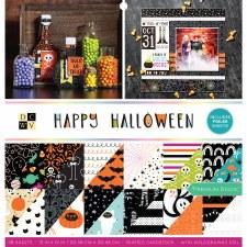 12x12 DCWV Paper Stack- Happy Halloween