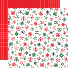 Christmas Cheer 12x12 Paper- Happy Holidays