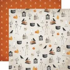 Halloween Market 12x12 Paper- Haunted Nights