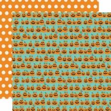 Say Cheese Halloween 12x12 Paper- Hey Pumpkin