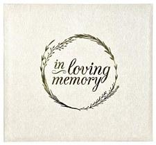 MBI 12x12 Postbound Scrapbook- In Loving Memory