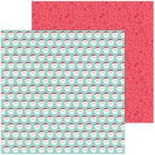 Christmas Magic 12x12 Paper- Jolly St. Nick