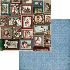 Christmas Treasures 12x12 Paper- Joyful