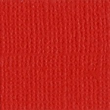 12x12 Red Textured Cardstock- Lava