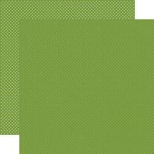 Dots 12x12 Paper- Leaf Green
