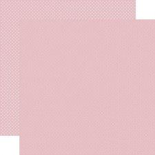 Dots 12x12 Paper- Light Mauve