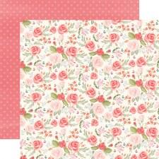 Farmhouse Market 12x12 Paper- Lovely Floral