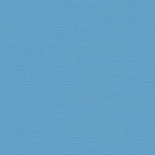 12x12 Blue Textured Cardstock- Madras Blue