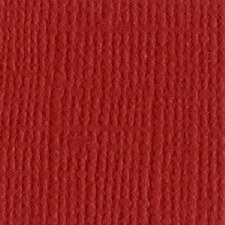 12x12 Red Textured Cardstock- Maraschino