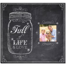 MBI 12x12 Postbound Scrapbook- Full of Life Mason Jar