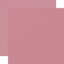 Dots 12x12 Paper- Mauve