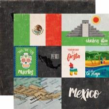 Around the World 12x12 Paper- Mexico