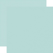 Dots 12x12 Paper- Mint