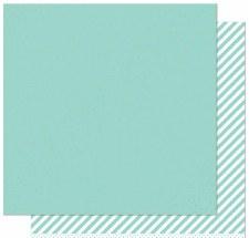 Let it Shine 12x12 Paper- Mint w/ Gold Foil