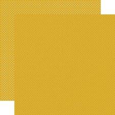 Dots 12x12 Paper- Mustard