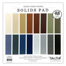12x12 Solids Paper Pad, 48 Sheets- Neutrals