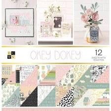 12x12 DCWV Paper Stack- Okey Dokey