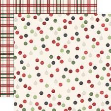 Christmas Market 12x12 Paper- Ornaments