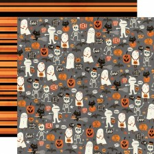 Boo Crew 12x12 Paper- Our Little Spooks