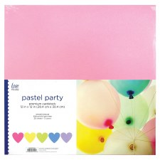 "12x12"" Cardstock Pack, 20ct- Pastel Party"