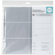 We R Memory Keepers 12x12 3-Ring Photo Sleeves, 10ct- 4x6