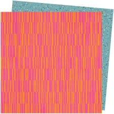 Amy Tangerine Slice of Life 12x12 Paper- Pink Lemonade