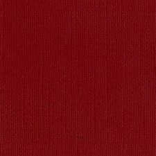 12x12 Red Textured Cardstock- Pomegranate