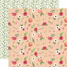 Botanical Garden 12x12 Paper- Poppy Bundle